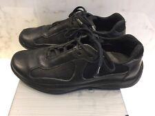 Prada Americas cup classic sneaker Black-Nero leather UK 6 EU 40 US 7 927da1e3302