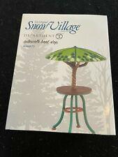Dept 56 Snow Village Accessory - Sidewalk Brat Stop #4044875