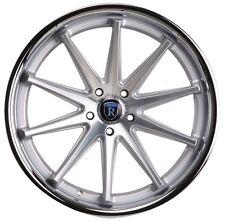 Rohana RC10 20x10 5x114 et25 Machine Silver/Chrome Lip Wheels Rims (set of 4)
