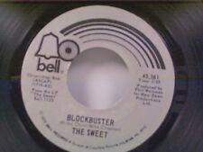 "SWEET ""BLOCKBUSTER / NEED A LOT OF LOVIN"" 45  NEAR MINT"