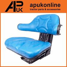 More details for suspension seat blue for ford 2000 3000 4000 5000 2600 3600 4600 5610 tractor