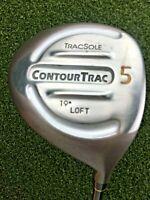 "TracSole CountourTrac 5 Wood 19* / RH ~38.75"" / Regular Graphite / gw2717"