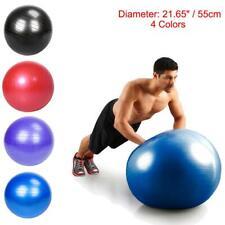 Exercise Ball Gym Yoga Fitness Anti-burst Leg Workout Balance Trainer W/Air Pump