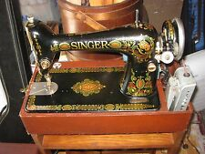 Antique Singer Sewing Machine Model 66 Dated 1922 Tested and Working