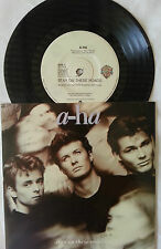 "A-HA STAY ON THESE ROADS 7"" VINYL RECORD"