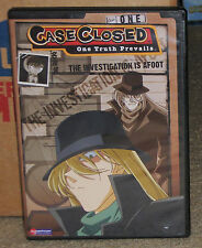 Case Closed Volume 1.1 The Investigation is Afoot DVD 2-Disc Set