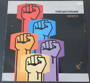 "FRANKIE GOES TO HOLLYWOOD Rage Hard (+) 12"" Vinyl single 1986 Action Series ZTT"
