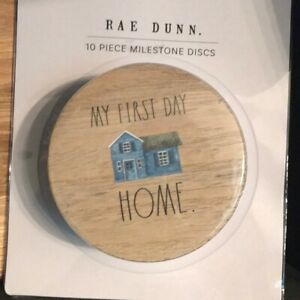 Rae Dunn 10 Piece Milestone Discs - Brand New Free shipping