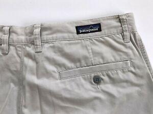 Patagonia Men's Pants Lightweight Beige Tan Organic Cotton 35x35