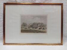 Stampa del '800 cavalleggeri cm 18x25 Antikidea