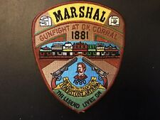 Tombstone Arizona Marshal Police Department Patch