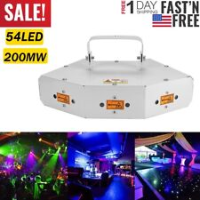 6 Lens RGB Scan Laser Light/DMX Line Beam Scanning Stage Lighting/DJ Dance Bar