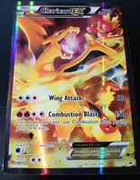 FULL ART CHARIZARD EX ULTRA RARE Promo XY121 Pokemon Card Light Play!!