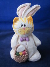 Eddie Walker Easter Bunny Rabbit Costume Worn by a Cat ~ Excellent