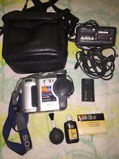 Sony Mavica Mvc-Fd87 1.3Mp Digital Camera w/Battery Power Cable Camera Bag