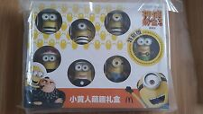2017 The Despicable Me 3 Minions McDonalds Toys Complete Set 7 PCS In Box