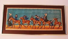 Jean Lareuse-Petite Fille A Dos D'anes-Lithograph-SIGNED- #- Limited Edition