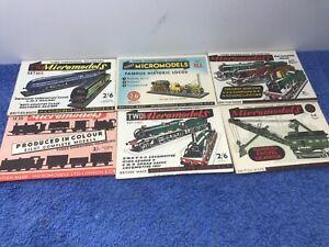 Original 1940/50s Micromodels Sets..All Different - 6 Sets