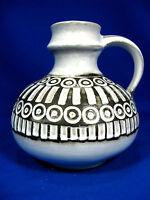 "70´s design Ceramano ""Polaris"" Keramik pottery jug vase # Krugvase  249"