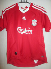 Liverpool 2008-2010 Home Football Shirt Size large boys /20159