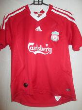 Liverpool 2008-2010 Home Football Shirt Size large boys /20159