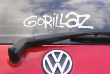 """8 """"Gorillaz Vinilo coche calcomanía / etiqueta adhesiva-Cd De Música T Shirt"""