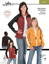 Jalie Hip Length Fleece Sport Jacket Sewing Pattern 2679 Miss' & Girls' 27 Sizes