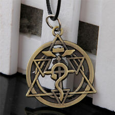 Anime Fullmetal Alchemist Geometry Alloy Necklace Pendant