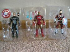 marvel legends mega lot 9 , 6 in. loose figures mint and complete , no baf part