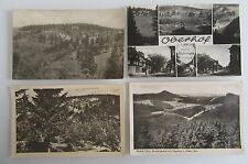 DDR Postkarten Lot 4x Thüringen OBERHOF Ansichtskarten frankiert gelaufen