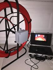 Pipe Inspection Sewer Camera Drain Cleaner 100FT