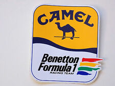 ADESIVO STICKER CAMEL BENETTON FORMULA 1 RACING TEAM - B1