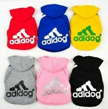 Adidog Dog Hoodies - Suitable for small to medium sized dogs/puppies