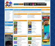 TURNKEY ARCADE WEBSITE SCRIPT 2800 GAMES 100% + Hosting Included