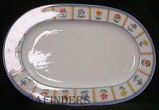 "VILLEROY & BOCH china JULIE pattern Oval Meat Serving Platter @ 16"""