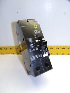 NEW SQUARE D 30 AMP BOLT ON CIRCUIT BREAKER 480 VAC 2 POLE  EDB24030