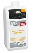HG Natural Stone Wash & Shine Restoring Cleaner For Marble & Stone 1 Litre # 37