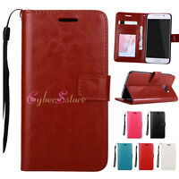 Leather Luxury Wallet Card Flip Stand Case Cover for Samsung Galaxy S8 S8 Plus