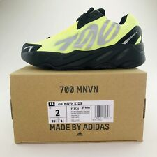 Adidas Yeezy Boost 700 MNVN Phosphor US Kids Size 2Y 100% Authentic Free Shippin