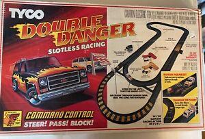Vintage 1981 Tyco Command Control Double Danger Racing Set