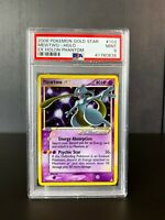 Mewtwo Gold Star Holo Pokemon Card EX Holon Phantoms 103/110 Mint PSA 9