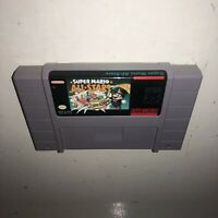 Super Nintendo Game MARIO ALL-STARS! Cleaned, BATTERY SAVES! Iconic SNES 1, 2, 3