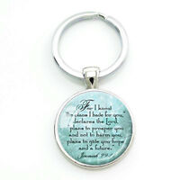 JEREMIAH 29 11 CHRISTIAN Keychain Scripture Jewelry Christian Gift for Christian