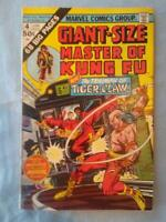 Giant-Size Master of Kung Fu 4 About Fine FIRST APPEARANCE TIGER CLAW Movie