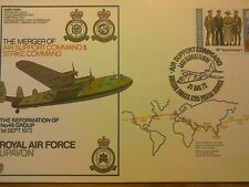 First Day Cover-The Merger of Air Support Command & Strike Command.1972