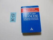 DIZIONARIO TASCABILE  ITALIANO FRANCESE FRANCESE ITALIANO MONDADORI COLLINS