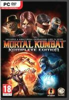 Mortal Kombat Komplete Edition  PC   more gory detail than ever before  NEW