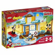 10827 MICKEY MOUSE & FRIENDS BEACH HOUSE LEGO duplo NEW set legos DUPLOS goofy