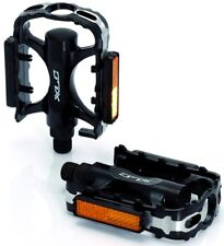 """XLC Cycling Cycle Bike One Piece Alloy MTB Pedals, 9/16"""". PD-M02. 2501811000"""