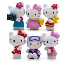 Set 6 Figuren Hello Kitty Figuren Action Figure Spielzeug Toys Cat Doll